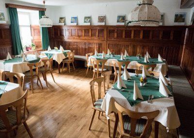 Gaststube im Gasthaus Gössler in Mühlen