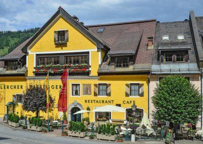 Außenansicht Hotel-Restaurant Lercher