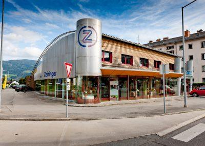 Firmengebäude der Zeiringer GmbH