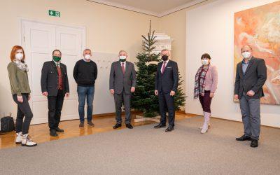 Weihnachtsbesuche der Holzwelt Murau in Graz