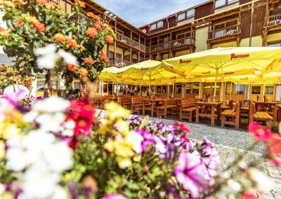 Gastgarten des Brauhaus zu Murau